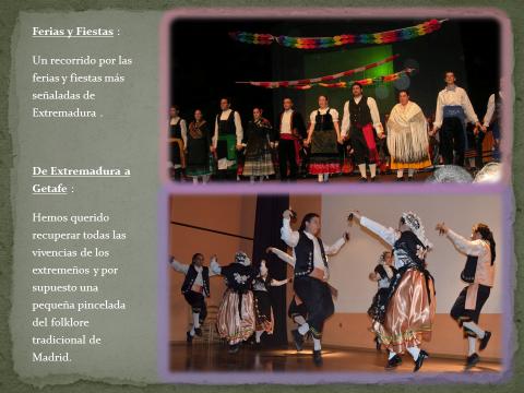 El Grupo De Coros Y Danzas De La Casa Regional De Extremadura En Getafe  U201cMiel Y Espigau201c Desde Sus Inicios Ha Paricipado En Diversos Festivales, ...