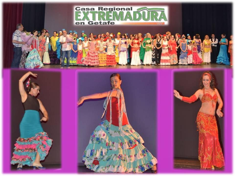 Fin de curso de Danzas 2015/2016 en el Teatro Francisco Rabal de Pinto