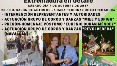 XXXVII Jornadas culturales y celebración del xxviii aniversario de la sede de la casa regional de extremadura en getafe (4)