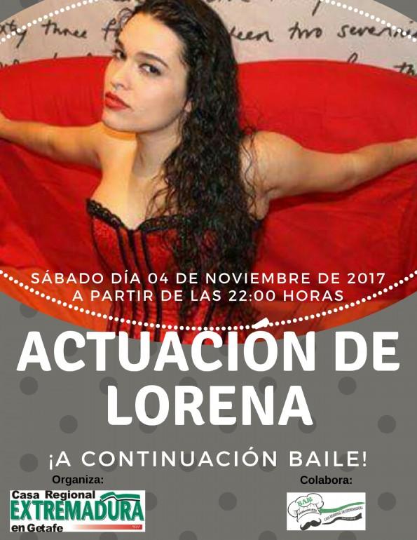 Actuación de LORENA (1)