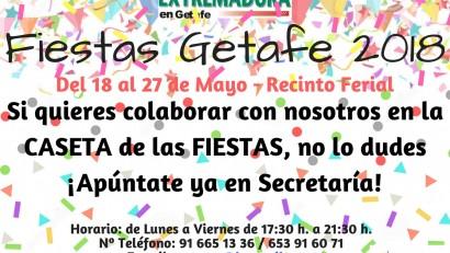 Colaboración Fiestas Getafe 2018